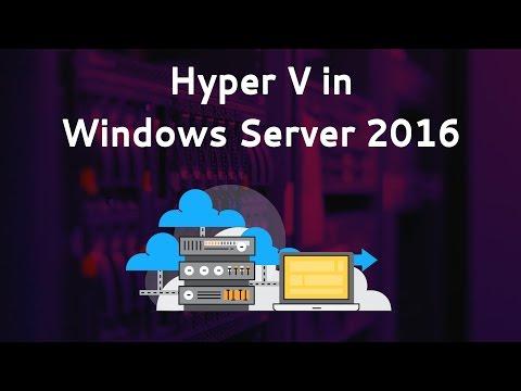 Learn Hyper V |  | Hyper Virtualization Course | Introduction | Eduonix