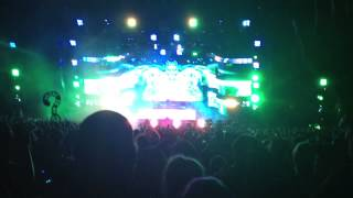 Bassnectar performing Don't Hate the 808 at Red Rocks May 31 2014