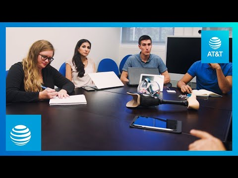 Connected Prosthetics | Enhancing Lives With Data | AT&T-youtubevideotext