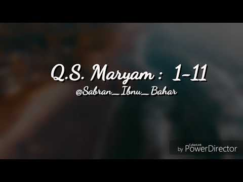 Surat Maryam 1 11 By Kak Husnul With Subtittle Murottal