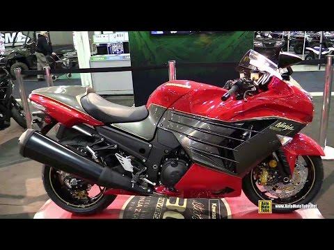 2015 Kawasaki Ninja ZX-14R 30th Anniversary Edition Walkaround - 2014 Toronto ATV Show
