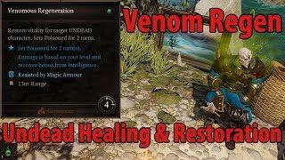 Venom Regen - Undead Healing Restoration
