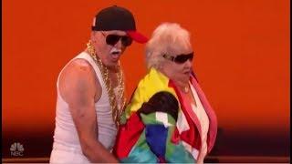 Celina & Filiberto: Mature Couple SEXY Erotic Dance Routine! | America's Got Talent 2018