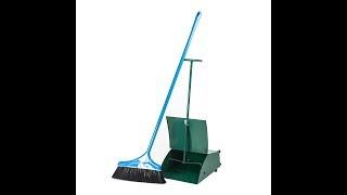 Dustpan and Brush Set (Metal) - 86*17*12 cm