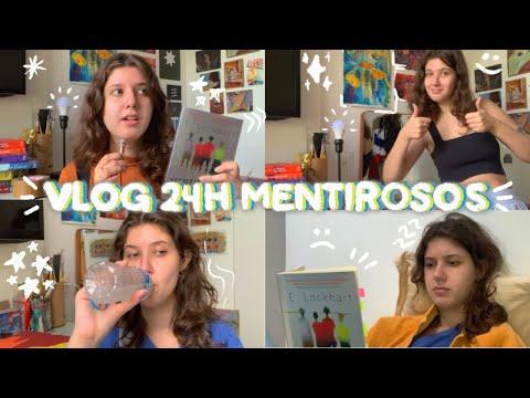 vlog 24h lendo Mentirosos ? | vlog de leitura #08