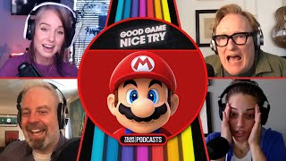 """Conan's Risqué Mario Impression - """"Good Game Nice Try""""   Team Coco Podcasts"""