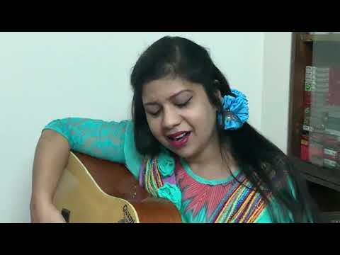 "RAZIA MUNNY' PERFORMANCE OF THE SONG, ""OI JHINUK FOTA SAGOR BELAY"" BY GUITER...!"