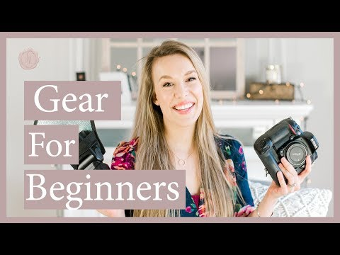 Best Camera Gear for Beginners | Nikon and Canon!