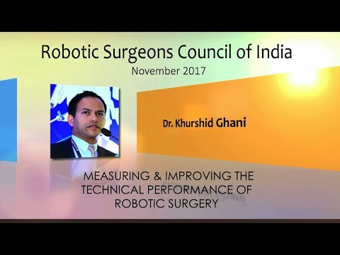 Measuring and Improving the Technical Performance of Robotic Surgery