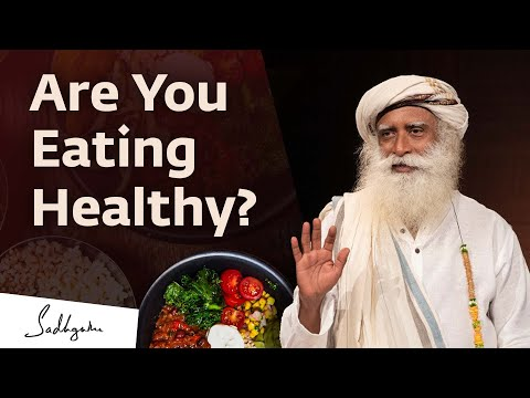 Video Healthy Food and a Proper Diet -- How Does One Decide?