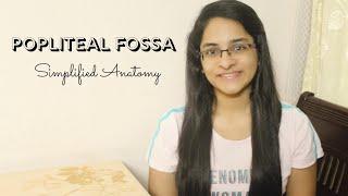POPLITEAL FOSSA | ANATOMY | SIMPLIFIED