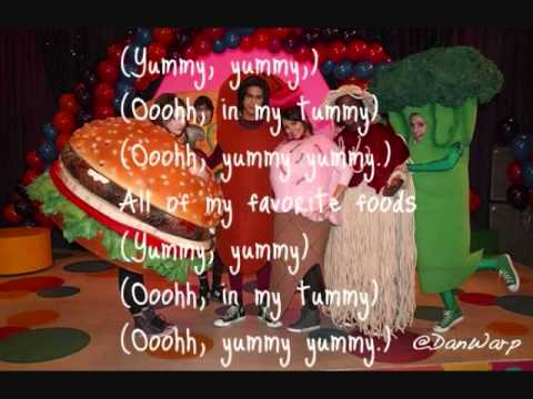 Favorite Food By Victorious Cast (Lyrics On Screen)