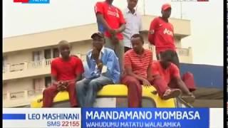 Abiria wakosa namna baada ya matatu kugoma mjini Mombasa