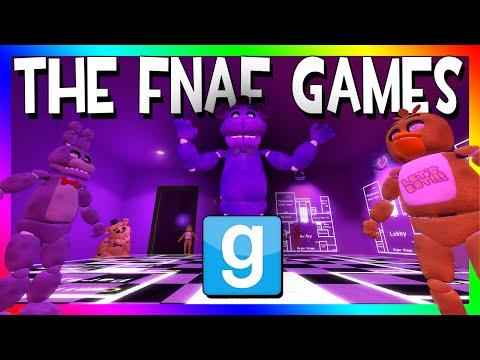 THE FNAF GAMES | Control the ANIMATRONICS (Gmod Fi | Youtube
