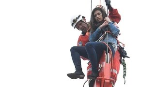 Woman rescued from Toronto crane tower in dramatic operation