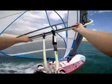 Light wind windsurfing |  RRD xFire 129 wood | Ezzy Infinity 9.5