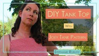 DIY Tank Top From Mens Shirt