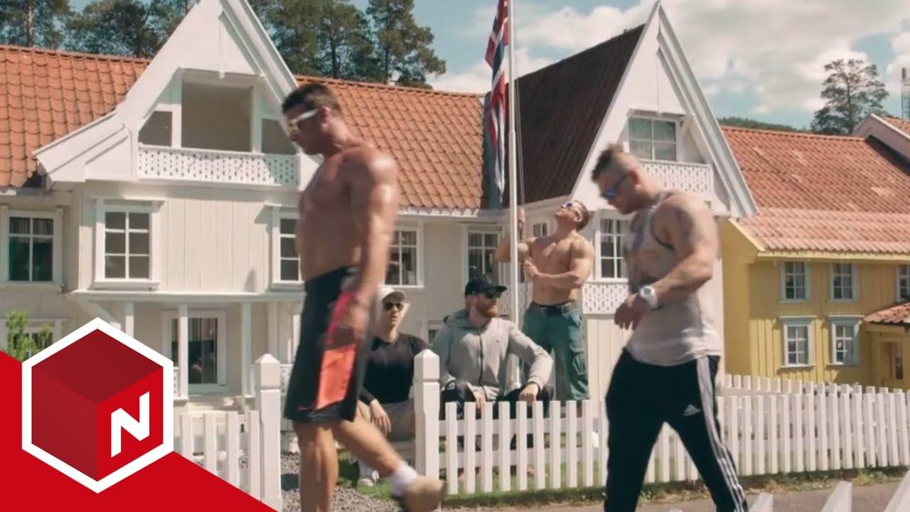 Норвежки бодибилдъри намериха нов начин да изпъкнат с размерите си