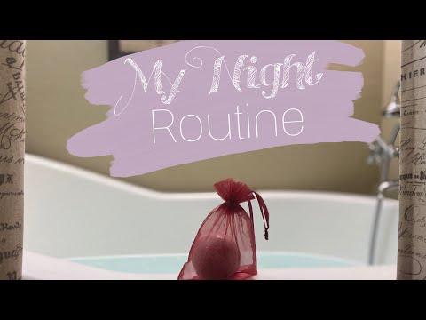 My night routine...part one!!