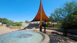 Scottsdale Xeriscape Garden FPV drone footage