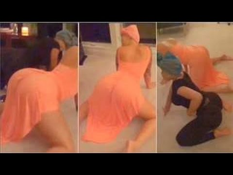 Amber Rose And Blac Chyna Twerking