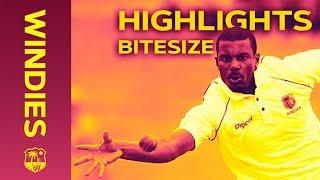 Windies v Sri Lanka 2nd Test Day 4 2018   Bitesize Highlights