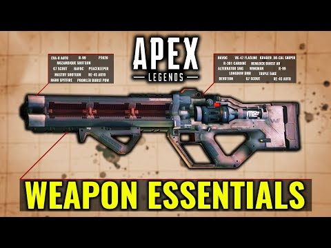 Apex Legends - Weapon Essential Guide & Basics