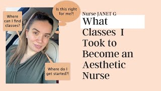 What Classes I Took in My Journey to Becoming an Aesthetic Nurse