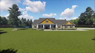 COUNTRY HOUSE PLAN 348-00208