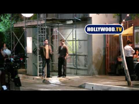 Jennifer Lopez On The Set Of The Back-Up Plan