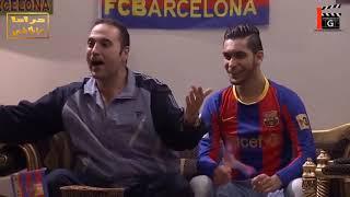 جماعة برشلونة وريال مدريد الأكل حسب لون الفريق ههه ـ فزلكة عربية 3