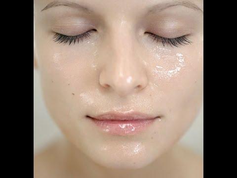Le masque pour la personne la glycérine et largile