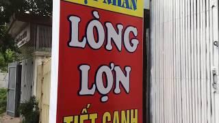 quán Lòng lợn tiết canh nổi tiếng Lạng sơn