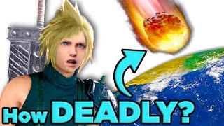 How Deadly Is Sephiroth's Meteor in Final Fantasy 7 | The Science of... Final Fantasy