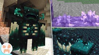 SCULK SENSOR = WARDEN? GROWING AMETHYST! Java Character Creator? | Minecraft 1.17 News
