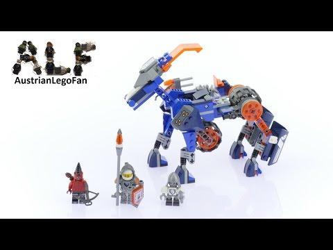 Vidéo LEGO Nexo Knights 70312 : Le méca-cheval de Lance