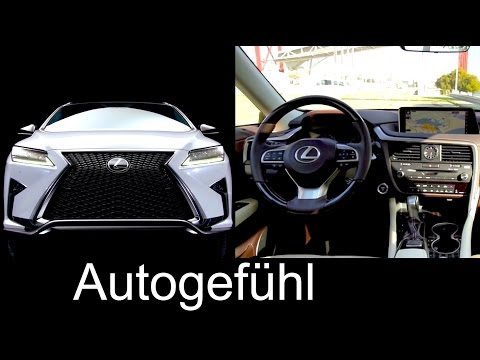 All-new Lexus RX Preview Exterior/Interior RX450h 350 200t 2016 - Autogefühl