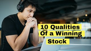 10 Qualities of a Winning NSE Stock