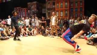 NATURAL [GER] vs. KONSTANTIN [RUS]   Battle Solo Final    IDO European Hip Hop Championships 2014
