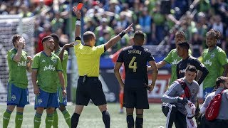 Interview: Cristian Roldan On His Red Card Vs LAFC