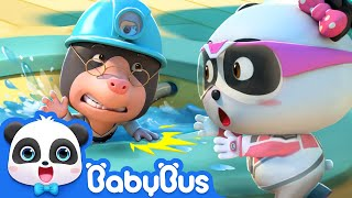 Super Panda Goes on a New Mission   Super Panda Rescue Team   BabyBus Cartoon