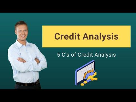 Credit Analysis | Process | 5 C's of Credit Analysis | Ratios - YouTube