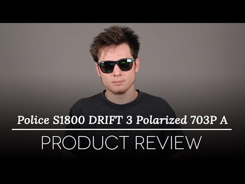 Police Sunglasses Review – Police S1800 Drift 3 Polarized