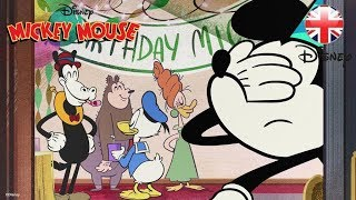 MICKEY MOUSE SHORTS | The Birthday Song | Official Disney UK