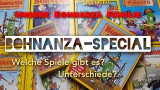 Unsere Bohnanza Familie!(Amigo)-Bohnanza Special- Welche Spiele gibt es? Was sind die Unterschiede?