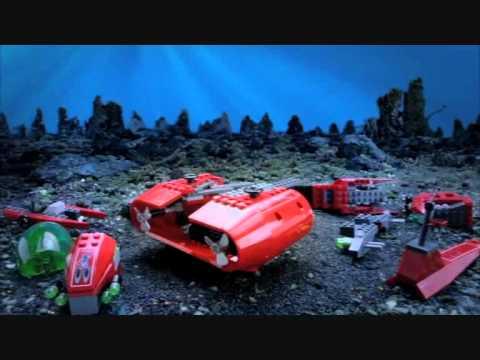 Vidéo LEGO Atlantis 8075 : Le transporteur Neptune