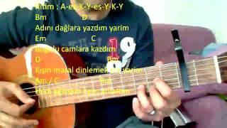 Gitar Dersi - Kış Masalı (Adını Dağlara Yazdım)