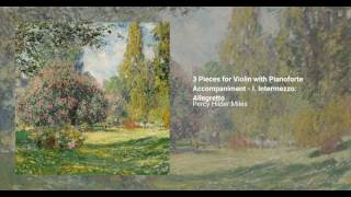 3 Pieces for Violin with Pianoforte Accompaniment
