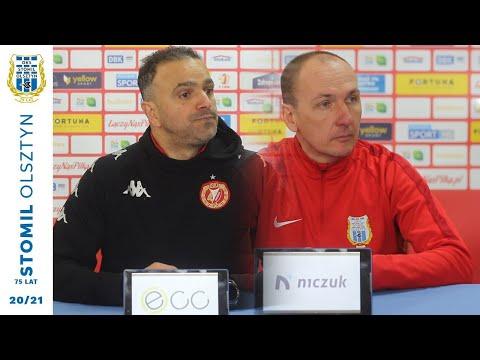 Trenerzy po meczu Stomil Olsztyn - Widzew Łódź 0:2