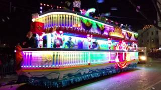 Mardi Gras New Orleans 2016 Endymion Parade Jerry Springer Float!!